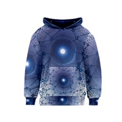 Network Social Abstract Kids  Pullover Hoodie