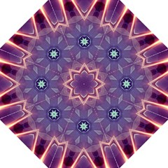 Abstract Glow Kaleidoscopic Light Straight Umbrellas
