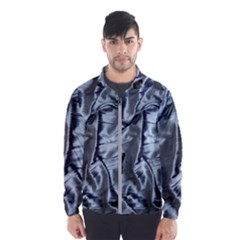 Pattern Abstract Desktop Fabric Windbreaker (men)