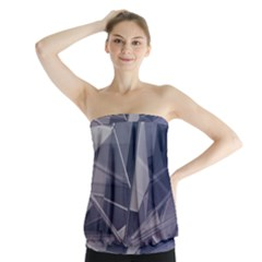 Abstract Background Abstract Minimal Strapless Top