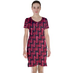 Fabric Pattern Desktop Textile Short Sleeve Nightdress