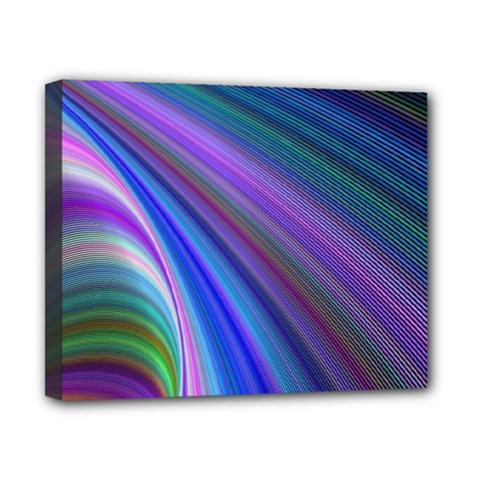 Background Abstract Curves Canvas 10  X 8