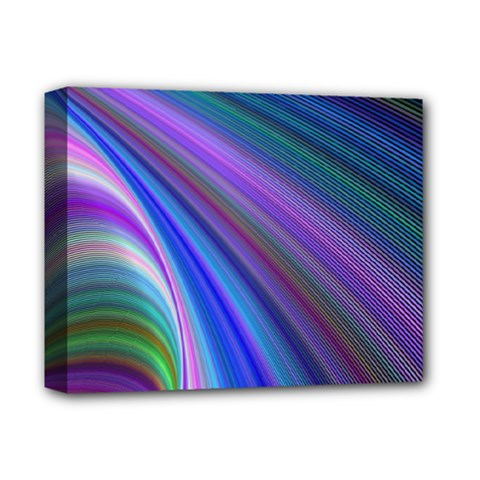 Background Abstract Curves Deluxe Canvas 14  X 11