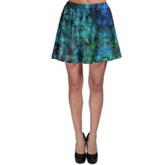 Color Abstract Background Textures Skater Skirt