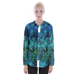 Color Abstract Background Textures Womens Long Sleeve Shirt