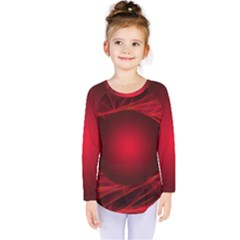 Abstract Scrawl Doodle Mess Kids  Long Sleeve Tee