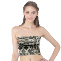 Fabric Textile Abstract Pattern Tube Top