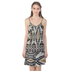 Fabric Textile Abstract Pattern Camis Nightgown