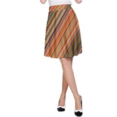 Background Texture Pattern A Line Skirt