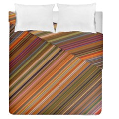 Background Texture Pattern Duvet Cover Double Side (queen Size)