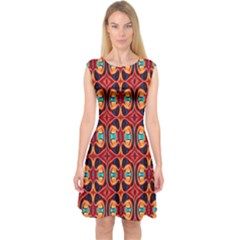 Artworkbypatrick1 C 3 Capsleeve Midi Dress