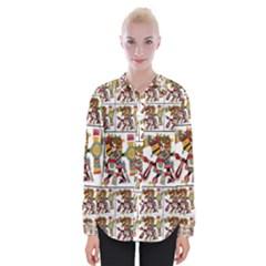 1 Womens Long Sleeve Shirt