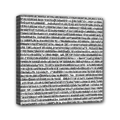 Code Mini Canvas 6  X 6