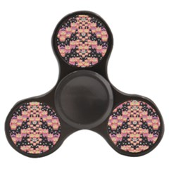 Fantasy Flower Ribbon And Happy Florals Festive Finger Spinner