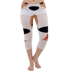 Dog Animal Boxer Family House Pet Capri Yoga Leggings