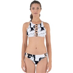 Animal Canine Dog Japanese Chin Perfectly Cut Out Bikini Set