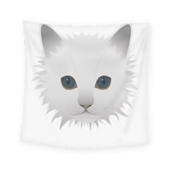 Cat Animal Pet Kitty Cats Kitten Square Tapestry (small)