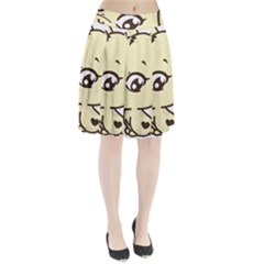 Doggy Dog Puppy Animal Pet Figure Pleated Skirt