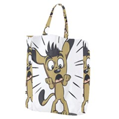 Animal Canine Cartoon Dog Pet Giant Grocery Tote