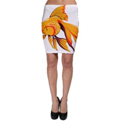 Goldfish Fish Tank Water Tropical Bodycon Skirt