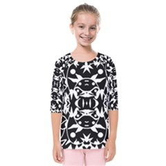 Pirate Society  Kids  Quarter Sleeve Raglan Tee