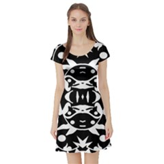 Pirate Society  Short Sleeve Skater Dress