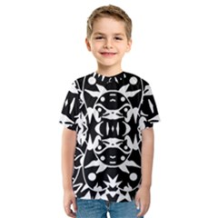 Pirate Society  Kids  Sport Mesh Tee