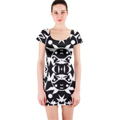 Pirate Society  Short Sleeve Bodycon Dress