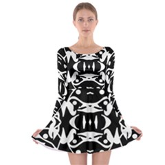 Pirate Society  Long Sleeve Skater Dress