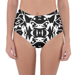 Pirate Society  Reversible High Waist Bikini Bottoms