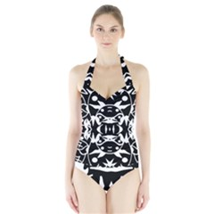 Pirate Society  Halter Swimsuit