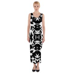 Pirate Society  Fitted Maxi Dress