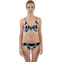 Pirate Society  Wrap Around Bikini Set