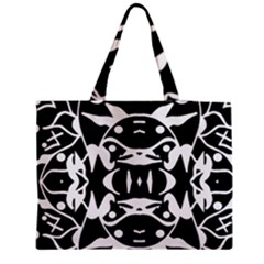 Pirate Society  Zipper Medium Tote Bag