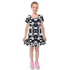 Pirate Society  Kids  Short Sleeve Velvet Dress