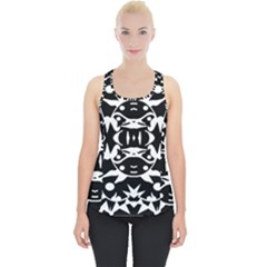 Pirate Society  Piece Up Tank Top