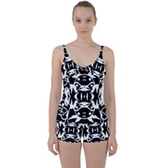 Pirate Society  Tie Front Two Piece Tankini