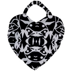 Pirate Society  Giant Heart Shaped Tote