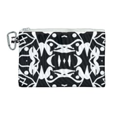 Pirate Society  Canvas Cosmetic Bag (large)