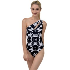 Pirate Society  To One Side Swimsuit