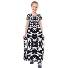 Pirate Society  Kids  Short Sleeve Maxi Dress