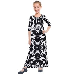 Pirate Society  Kids  Quarter Sleeve Maxi Dress