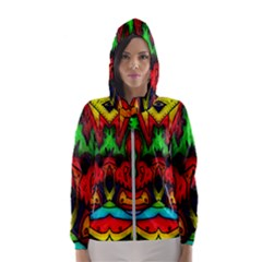 Faces Hooded Windbreaker (women)