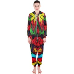 Faces Hooded Jumpsuit (ladies)