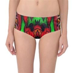 Faces Mid Waist Bikini Bottoms