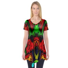 Faces Short Sleeve Tunic