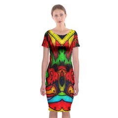 Faces Classic Short Sleeve Midi Dress