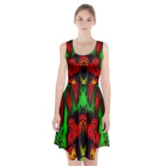 Faces Racerback Midi Dress