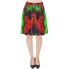 Faces Velvet High Waist Skirt