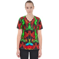 Faces Scrub Top
